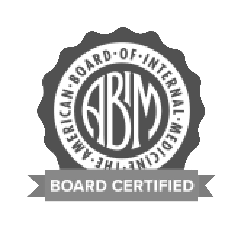 American Board of Internal Medicine Board Certified
